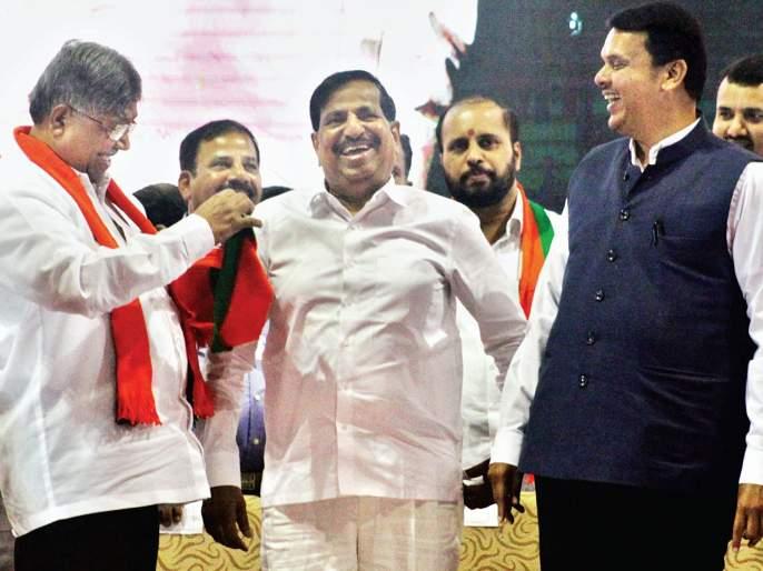 Meghalati, not the BJP's megharti; Chief Minister's torch   भाजपची मेगाभरती नव्हे, विरोधकांची मेगागळती;मुख्यमंत्र्यांचा टोला