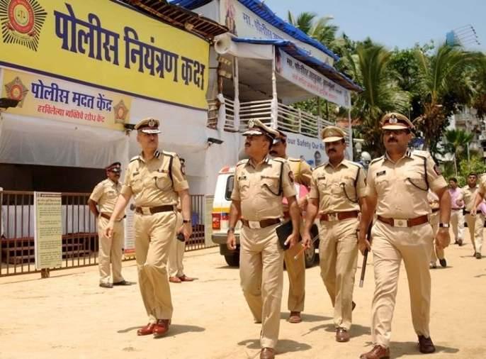 Two lakh police were deployed in Maharashtra and 3,000 in Mumbai for Bappa's conviction | बाप्पाच्या निरोपासाठी राज्यातमहाराष्ट्रात दोन लाख तर मुंबईत ५० हजार पोलीस तैनात