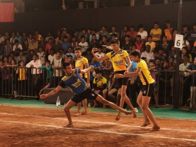 Kabaddi: Duttguru Sports Board in second round | कबड्डी : दत्तगुरु क्रीडा मंडळ दुसऱ्या फेरीत