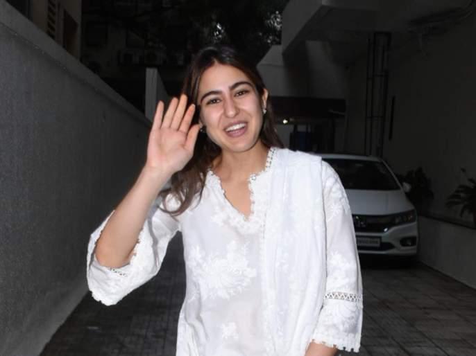 Rishi Kapoor Hails Sara Ali Khan's Simplicity | सारा अली खानच्या या वागण्याने भारावले ऋषी कपूर; म्हणाले, Wonderful Sara!