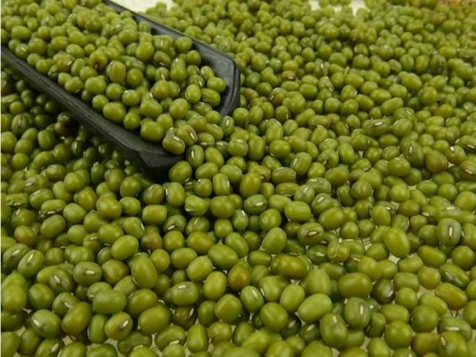Mung price increase in the sowing season | पेरणीच्या तोंडावर मुगाच्या दरात वाढ