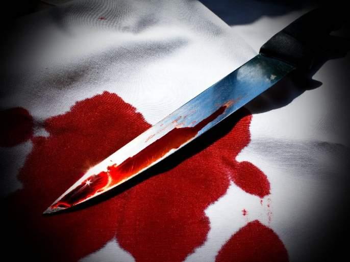 throat cutting murdered of youth at dighi   दिघीत तरुणाची गळा चिरुन हत्या