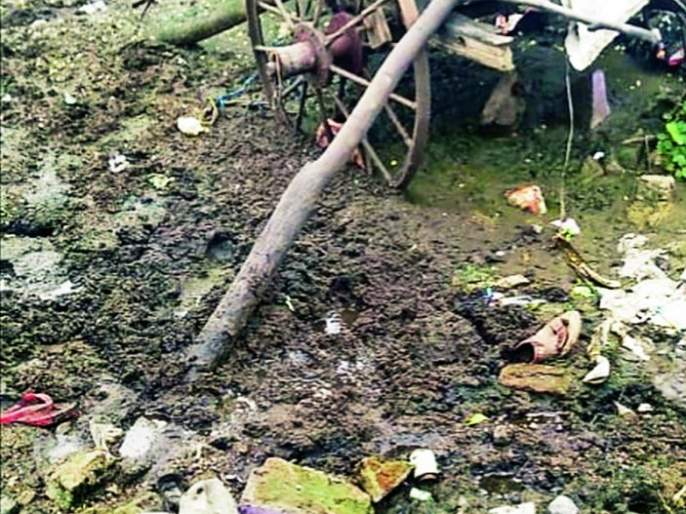 The baby was murdered and buried in a puddle at Ranala, Nagpur | नागपूरनजीकच्या रनाळा येथे बाळाचा खून करून उकिरड्यात पुरले