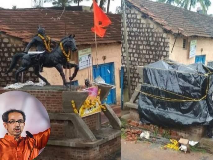 Removal of Chhatrapati Shivaji statue; Minister Eknath Shinde Letter to the CM of Karnataka | छत्रपतींचा पुतळा हटवल्याची राज्य सरकारकडून गंभीर दखल; कर्नाटकच्या मुख्यमंत्र्यांना धाडलं पत्र