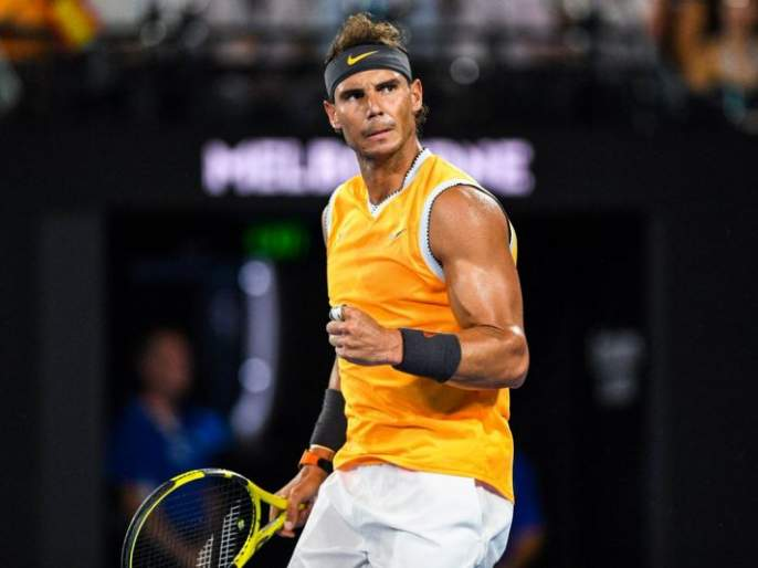 Australian Open: Star Rafael Nadal advances with an easy win | ऑस्ट्रेलियन ओपन : स्टार राफेल नदालची सहज विजयासह आगेकूच