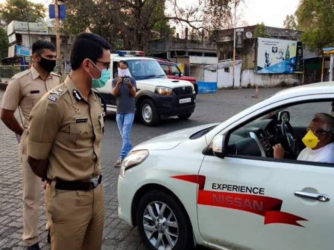 Coronavirus: Now in Nashik, it is mandatory to use masks; An order issued by Vishwas Nangare Patil   Coronavirus: आता नाशिकमध्येही मास्क वापरणे सक्तीचे;विश्वास नांगरे पाटलांनी जारी केला आदेश