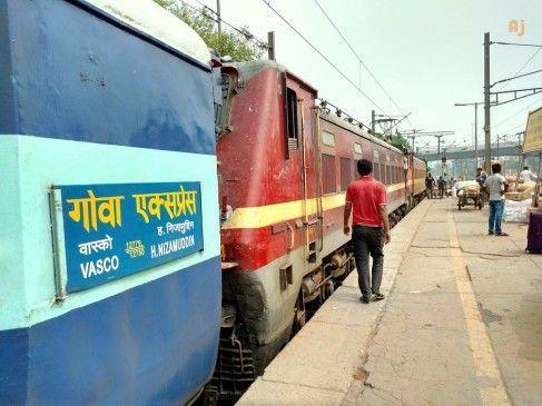 Nagpur - Goa train will run again   नागपूर - गोवा ट्रेन पुन्हा धावणार