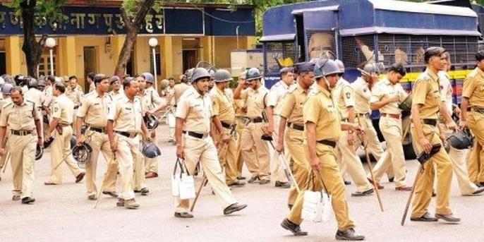Strong bandobast of police for immersion of Shri Ganesh | श्री गणेश विसर्जनासाठी पोलिसांचा जबरदस्त बंदोबस्त