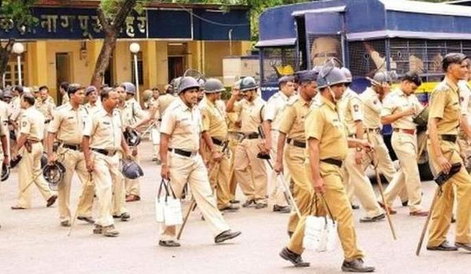 Heavy security system in Nagpur: Two thousand police deployed | नागपुरात कडेकोट सुरक्षा व्यवस्था : दोन हजार पोलीस तैनात
