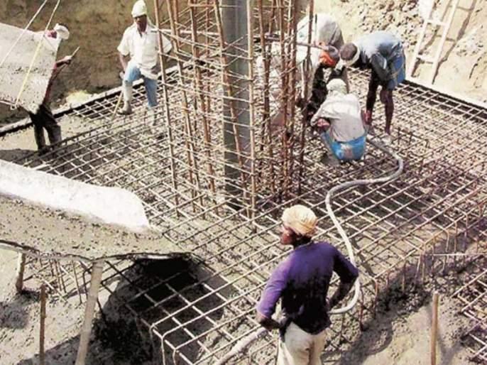 The construction business will come to a standstill throughout the year; CREDAI-MCHI survey | वर्षभरात बांधकाम व्यवसाय येईल पूर्वपदावर; क्रेडाई-एमसीएचआयचा सर्व्हे
