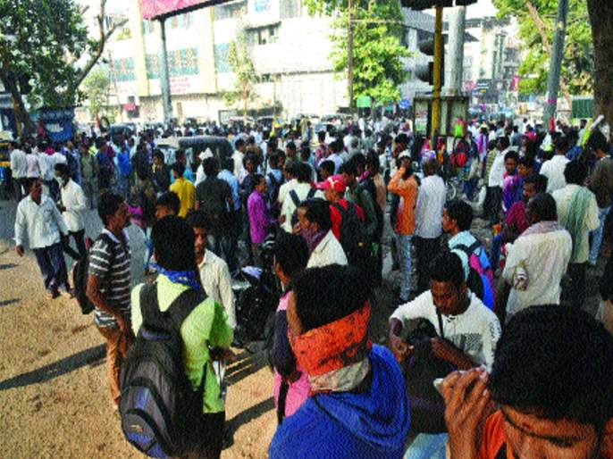 Coronavirus: No Work to Naka Workar due to Corona virus in Palvel, Navi Mumbai   Coronavirus : नाकाकामगारांवर आली उपासमारीची वेळ, पनवेलसह नवी मुंबईतील नाके ओस