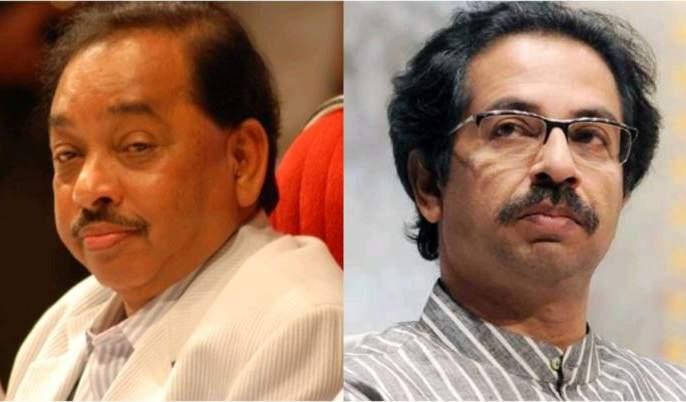 Maharashtra Election 2019: 'Shiv Sena promise funny; Will you make a plate of 10 rupees at Matoshree? Says Narayan Rane | Maharashtra Election 2019: 'शिवसेना वचननामा हास्यास्पद; 10 रुपयांची थाळी मातोश्रीवर बनविणार का?'