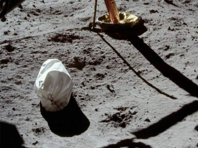 NASA cleanliness campaign on moon, bring back garbage 50 years ago | चंद्रावर 'नासा'ची स्वच्छता मोहीम, 50 वर्षापूर्वी केलेला कचरा पुन्हा आणणार