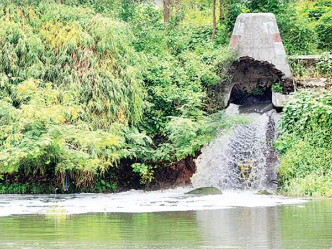 wastewater In the Godavari without processing, there are criticisms from environmentalists | प्रक्रिया न करताच सांडपाणी गोदावरीत, पर्यावरणप्रेमींकडून टीकेची झोड