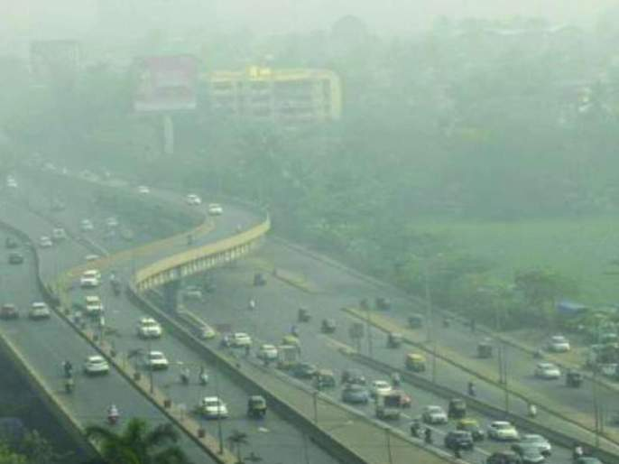 The air in Mumbai is satisfactory, the atmosphere in Navi Mumbai polluted | मुंबईतील हवा समाधानकारक, नवी मुंबईतील वातावरण प्रदूषित