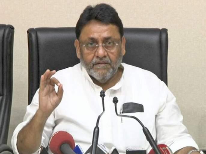 ncp leader nawab malik criticises bjp over maharashtra gram panchayat election results | ग्रामपंचायत निवडणुकांमध्ये भाजपची पुरती धुळधाण, सर्व दावे खोटे; नवाब मलिकांची टीका