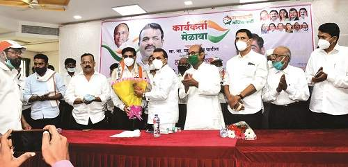 Right decision regarding mango and cashew crops: Balasaheb Patil | आंबा, काजू पिकांबाबत योग्य निर्णय: बाळासाहेब पाटील