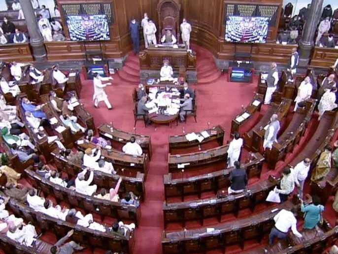 Rajya Sabha approves NCT Bill amid Uproar In Rajya Sabha from opposition | NCT Bill Passed In Rajya Sabha: राज्यसभेत NCT विधेयक मंजूर; विरोधकांकडून घोषणाबाजी, खासदारांचा सभात्याग