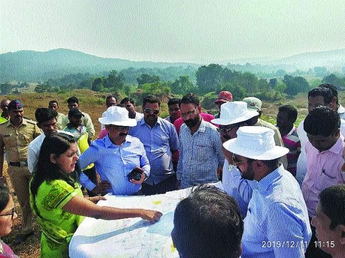 The question of rehabilitation of the Balganga Project sufferers by the way | बाळगंगा प्रकल्पग्रस्तांच्या पुनर्वसनाचा प्रश्न मार्गी