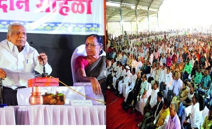 Pawar's 'ND' Sangha Sangatha: Pvt. Patil's work is inspiring for the new generation | पवार यांच्या तोंडून 'एन.डीं.'ची संघर्षगाथा- : प्रा. पाटील यांचे कार्य नव्या पिढीला प्रेरणादायी