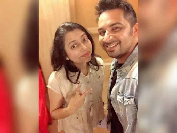 Singer neha rajpal and harshvardhan wavre sing a song together | गायिका नेहा राजपाल आणि गायक हर्षवर्धन वावरे आले 'या' गाण्यासाठी एकत्र