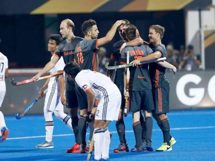 Hockey World Cup 2018: Netherlands beat Malaysia's by 7-0 margine | Hockey World Cup 2018 : नेदरलँड्ससमोर मलेशियाची शरणागती, 7-0 असा दणदणीत विजय