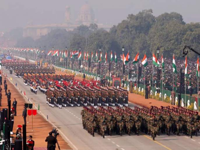 major Change In Republic Day Parade This Time Parade Will Go From Vijay Chowk To National Stadium   कोरोनामुळे दिल्लीत प्रजासत्ताक दिनाच्या संचलनात मोठे बदल; जाणून घ्या सविस्तर...