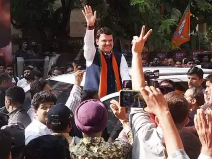 BJP No 1 Shiv Sena is not a Maharashtra wide party says Devendra Fadnavis   'भाजप'च नंबर १; शिवसेना महाराष्ट्रव्यापी पक्ष नाही: देवेंद्र फडणवीस