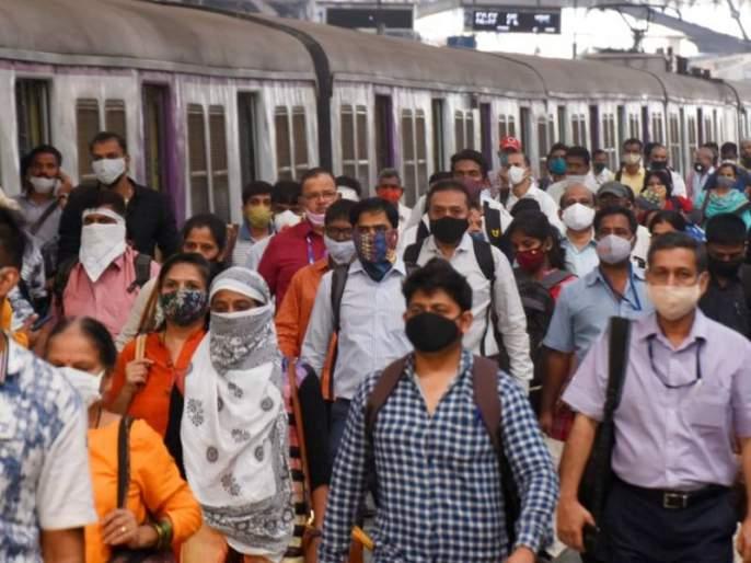 Mumbai Local Without Mask passengers action in railway | Mumbai Local: मुंबईत कोरोना रुग्ण वाढले, आता लोकलमध्येही होणार विना मास्क प्रवाशांवर कारवाई