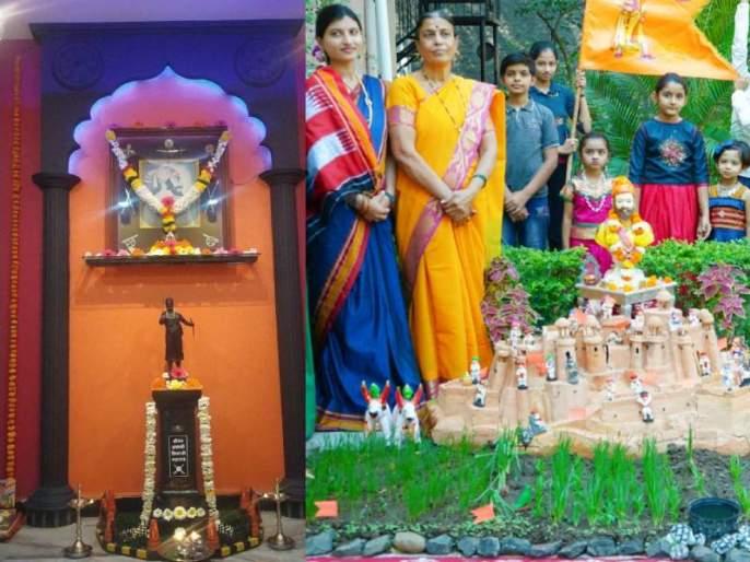 Spontaneous response from all over the state to the home Shiv Jayanti decoration competition   घरगुती शिवजयंती सजावट स्पर्धेला राज्यभरातून उत्स्फूर्त प्रतिसाद