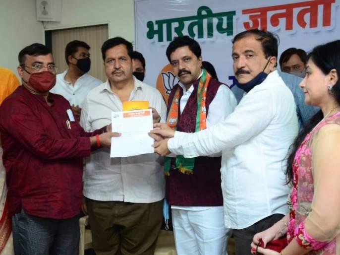 BJP starts incoming for Mumbai municipal elections Former Sena chief joins BJP   मुंबईत महापालिका निवडणुकीसाठी भाजपात इनकमिंग सुरु; सेनेच्यामाजी शाखाप्रमुखाचा भाजपात प्रवेश