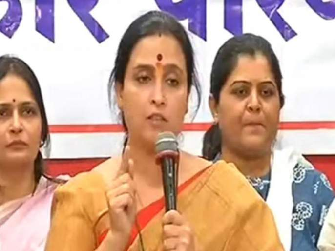 bjp leader chitra wagh once again received a threatening phone call | दारु पिऊन शिव्या देण्यात कसला पुरुषार्थ?; चित्रा वाघ संतापल्या, पुन्हा धमक्यांचे फोन