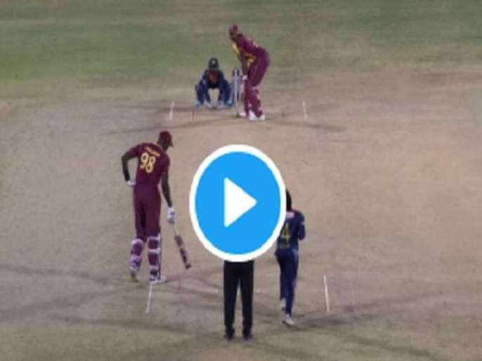west indies vs sri lanka 1st t 20 kieron pollard hit 6 six in one over | VIDEO: पोलार्डचा तडाखा, एका षटकात ६ षटकार ठोकले तो थरारक क्षण पाहा..