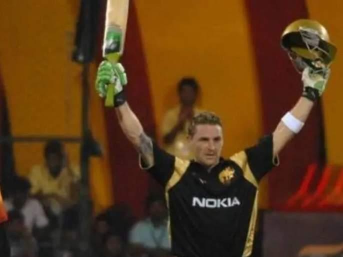 ipl start on this day in 2008 rcb vs kkr brendon mccullum unbeaten century in first match   On This Day: एका वादळी खेळीनं झाली होती IPL ची सुरुवात; ७३ चेंडूत मॅक्युलमनं ठोकलेल्या १५८ धावा!