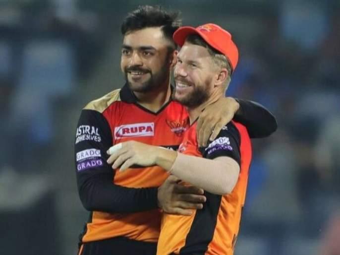 ipl 2021 kane williamson and david warner fast with rashid khan during ramadan | IPL 2021: वॉर्नर, विल्यमसननं मन जिंकलं! राशिद खानसोबत केला रमजानचा रोजा, पाहा Video