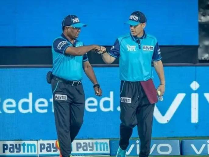 IPL 2021 ball change due in delhi capitals vs mumbai indians kieron pollard and kl rahul   IPL 2021: केएल राहुलसोबत पंचांनी केला भेदभाव, पोलार्डला केली मदत!; नेमकं प्रकरण काय?