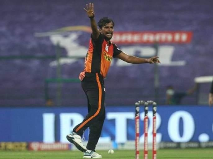 IPL 2021 SRH pacer T Natarajan ruled out of the tournament due to knee injury | IPL 2021: सनरायझर्स हैदराबादला मोठा धक्का, संघाचा महत्वाचा गोलंदाज आयपीएलमधून बाहेर