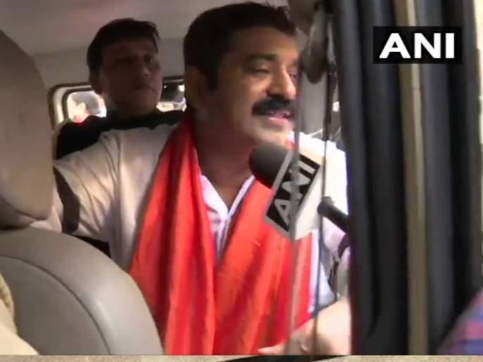 BJP leader Ram Kadam in police custody | भाजप नेते राम कदम पोलिसांच्या ताब्यात, राणेंची पोलीस ठाण्यात धाव