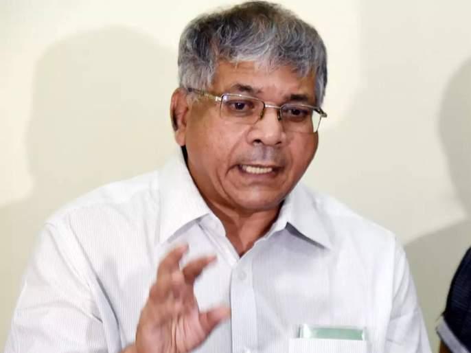prakash ambedkar allegations on state government minister over electricity bill issue | वीज बिल माफीचा कंपनीचा प्रस्ताव एका मंत्र्यानं दाबून ठेवला; प्रकाश आंबेडकरांचा आरोप