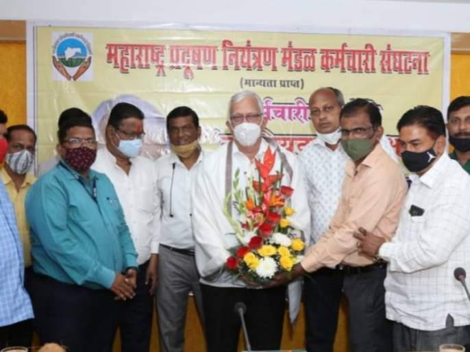 MLA Vilas Potnis elected as President of Maharashtra Pollution Control Board Employees Union | महाराष्ट्र प्रदूषण नियंत्रण मंडळ कर्मचारी संघटनेच्या अध्यक्षपदी आमदार विलास पोतनीस यांची निवड