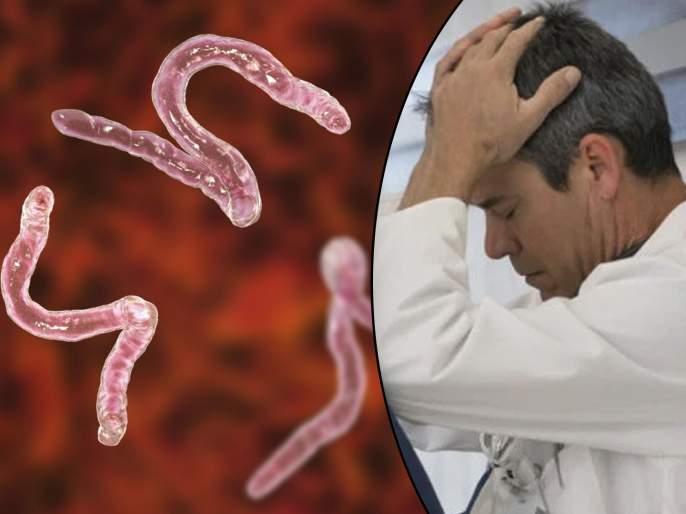 More than 700 tapeworms found in body of a man in china   सतत येत होते त्याला झटके, एमआरआय रिपोर्ट पाहून डॉक्टरांची बोलती झाली बंद...