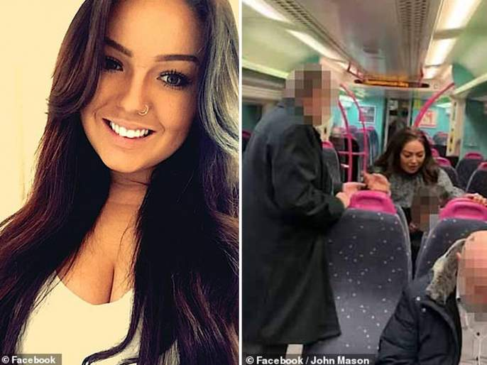 Video : Drunk' woman, 24, arrested for sexually assaulting male train passengers | Video : दारू पिऊन तरूणीचा रेल्वेत धिंगाणा, एका पुरूषाच्या मांडीवर जाऊन बसली अन्....