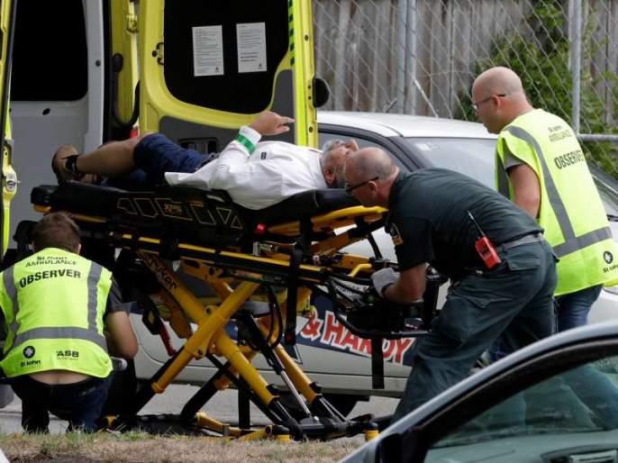 Many people killed in mass shooting at mosque in New Zealand city of Christchurch | न्यूझीलंडमध्ये मशिदीतल्या गोळीबारात 6 जणांचा मृत्यू, बांगलादेशची टीम सुदैवानं थोडक्यात बचावली