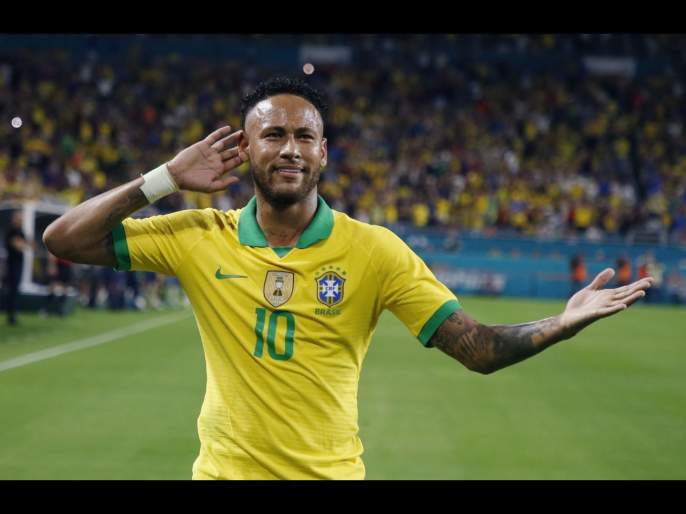 Neymar's name mistakenly appears in $120 coronavirus welfare payment scheme in Brazil   कोट्यधीश नेयमारचा अवघ्या ९ हजारांच्या सरकारी निधीसाठी अर्ज?... जाणून घ्या सत्य