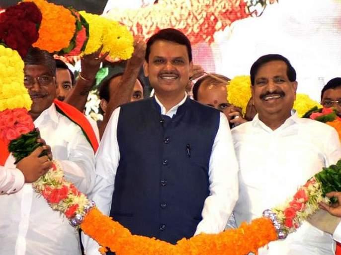 Shiv Sena firing on Ganesh Naik's shoulder, bjp politics in navi mumbai   गणेश नाईकांच्या खांद्यावरुन शिवसेनेवर गोळीबार, भाजपाचा राजकीय प्रहार