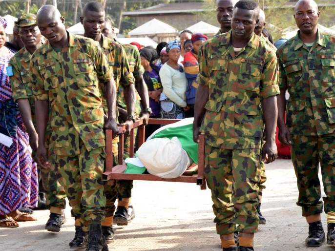 14 killed in armed attacks in Nigeria | नायजेरियातील एका गावावरील भीषण हल्ल्यात १४ गावकरी ठार