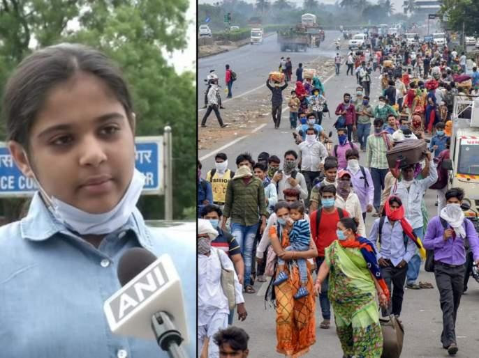 Noida girl student gives away saving amount to send three migrant workers to Jharkhand via air api | ऐ शाब्बाश! 12 वर्षाच्या मुलीने सेव्हिग्स खर्च करून मजूरांना विमानाने पोहोचवले त्यांच्या घरी...