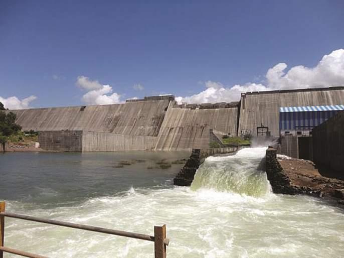 Released the rotation from the Bhandardara dam;   निळवंडे धरणातून प्रवरा नदीपात्रात सोडले पाणी; चार दिवस चालणार आवर्तन