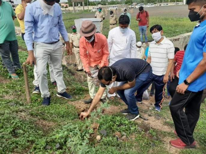 Launch of Neem Seed and Seed Ball Planting Campaign   निंब बीज व सीड बॉल रोपण अभियानास प्रारंभ
