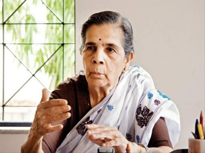 Shiv Sasheer Babasaheb Purandare's wife and social worker Nirmala Purandare passes away   शिवशाहीर बाबासाहेब पुरंदरे यांच्या पत्नी निर्मला पुरंदरे यांचे निधन